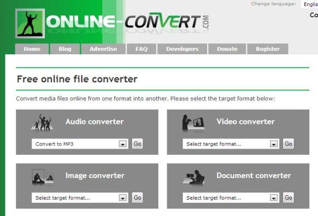 Como converter arquivos e músicas no site Online Convert
