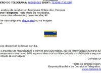 Telegrama Online dos Correios pode ser golpe online, cuidado!