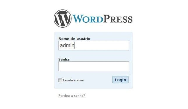 como recuperar a senha do wordpress