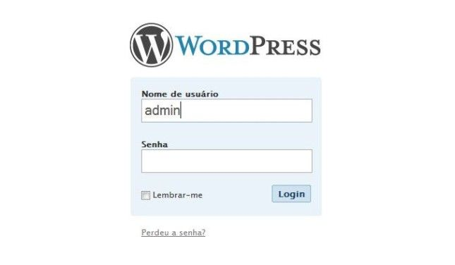 como recuperar a senha do wordpress