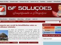 GF Soluções versão 2011, conheça nosso novo layout