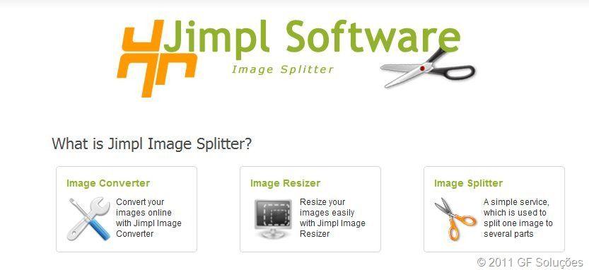 Converta, redimensione e recorte imagens online com Image Splitter 2