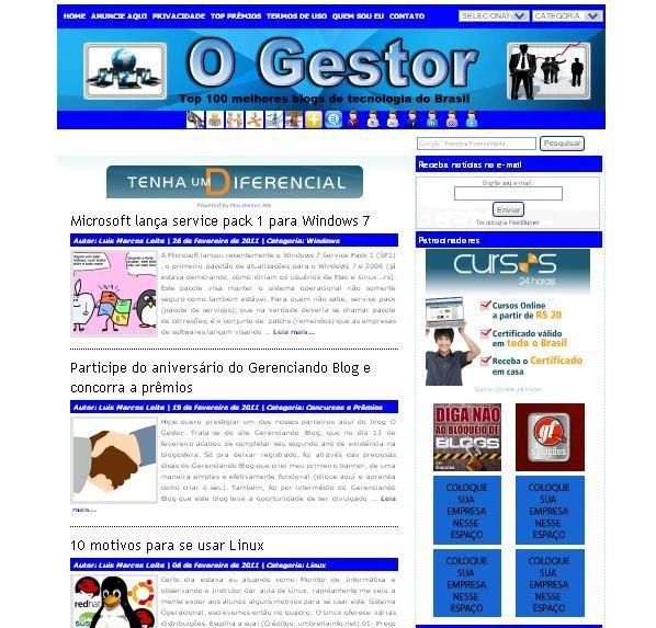 Tutorial: Como redirecionar um blog do Wordpress.com 3