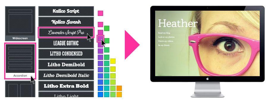 flavors.me, cartão, web 2.0