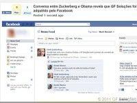 Gerador de conversas falsas no Facebook