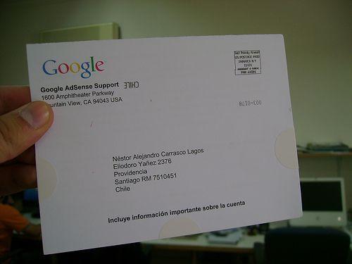 google, adsense, pin, pagamento