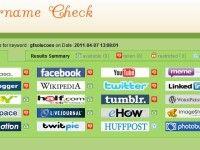 Username Check: Confira a disponibilidade de seu usuário nos principais serviços Web 2.0