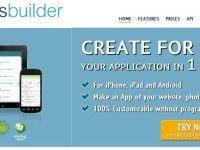 Crie aplicativos móveis para Android e Ipad com o appsbuilder