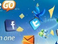 LiveGo: Redes sociais, e-mail e mensagens instantâneas num só local
