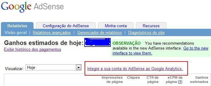 google, adsense, analytics