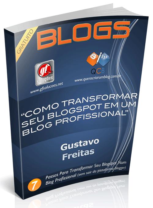 ebook, blog profissional, blogspot, blogger, dicas blog