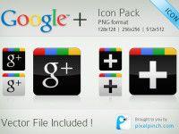 3 excelentes pacotes de ícones para o Google Plus