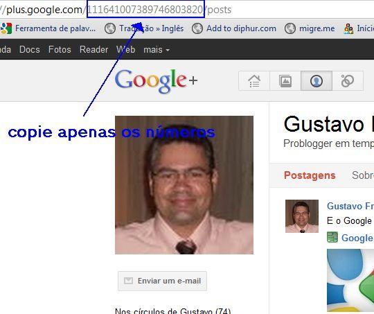google plus, gplus, personalizar url