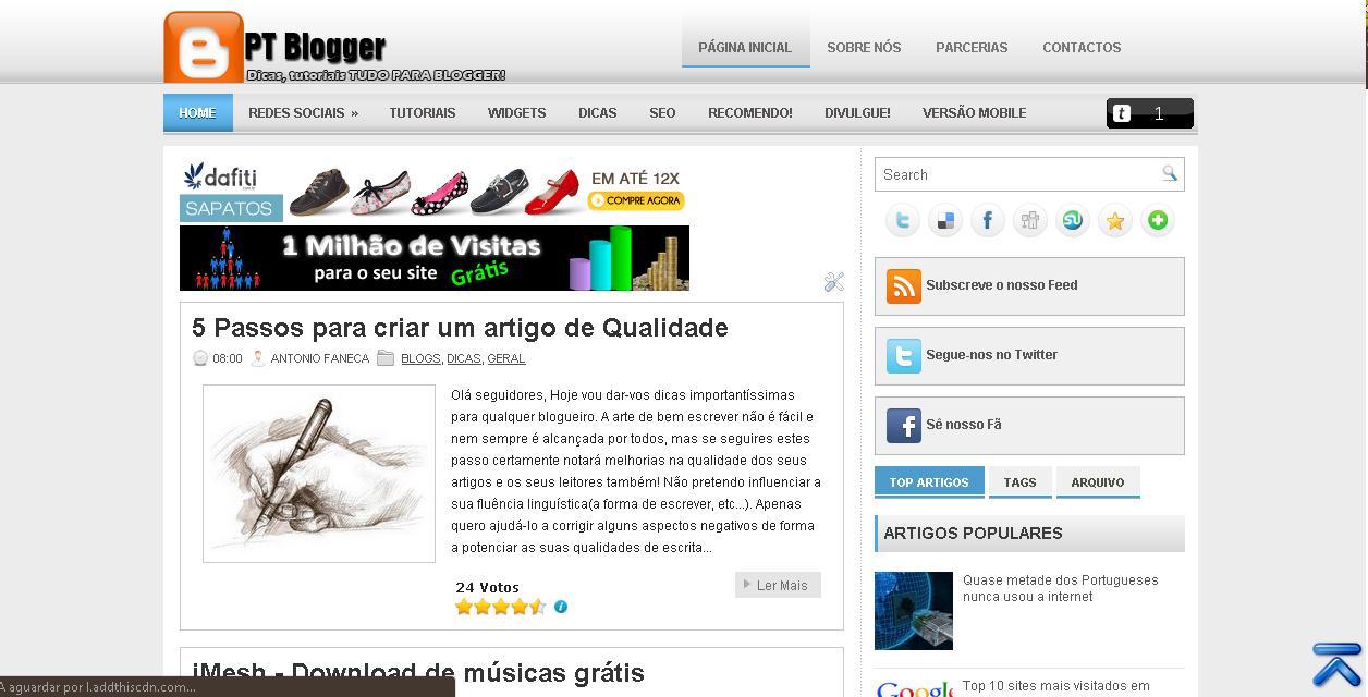 blog, ptblogger, blogspot