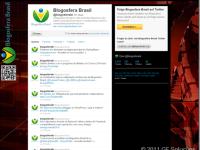 Relação com 10 backgrounds do Twitter utilizados em blogs para convencê-lo a ter o seu também