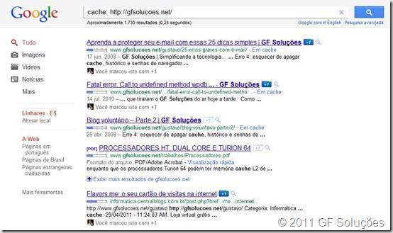 cache, google, backup, blog