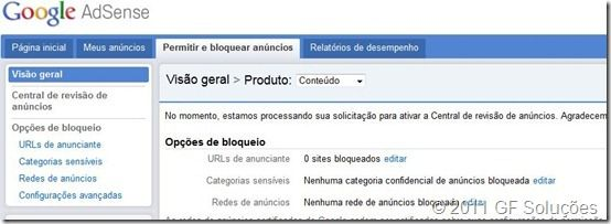 nova interface do google adsense como utilizar
