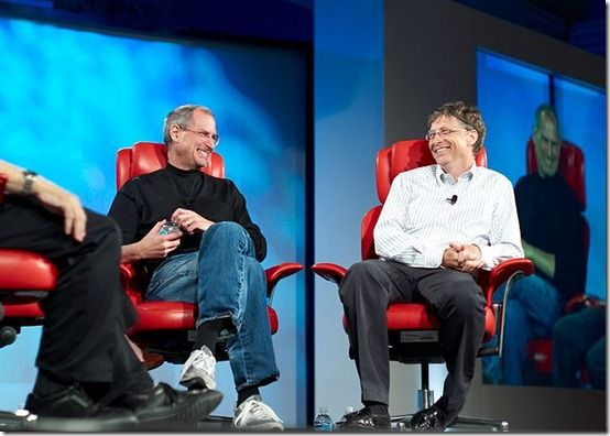 steve jobs e bill gates