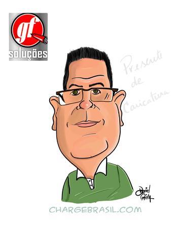 Ganhadores do sorteio de 2 caricaturas do Daniel Paiva 9