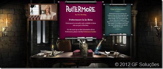 o que é pottermore