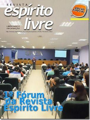 Edição 35 da Revista Espírito Livre: Especial I Fórum da Revista Espírito Livre 13