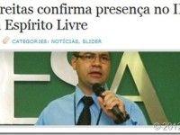 Participe do II Fórum da Revista Espírito Livre em Vila Velha – ES