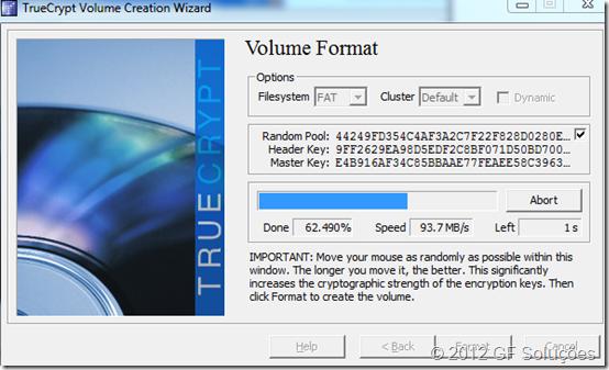 Proteja os arquivos do seu pen drive com TrueCrypt 11