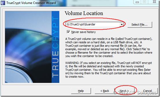 como instalar o truecrypt