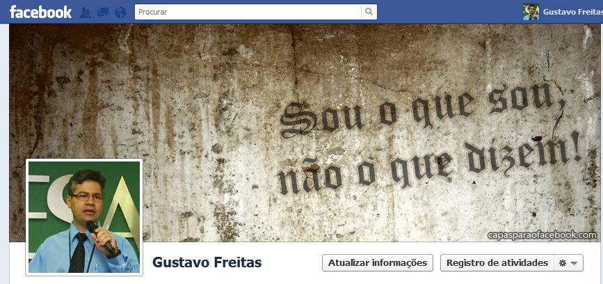 capas para facebook Gustavo Freitas