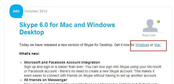 download skype 6.0 msn integrado