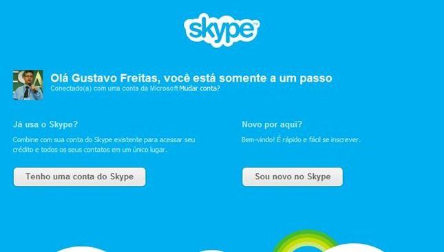 skype e msn juntos como fazer