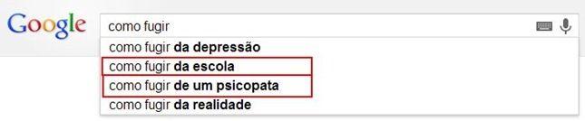 o que as pessoas procuram no google