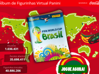 Álbum de figurinhas virtual Panini copa do mundo 2014 Fifa