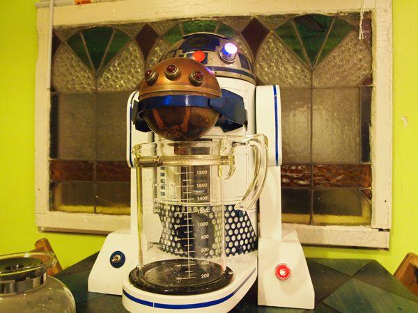 Cafeteira Geek R2-D2