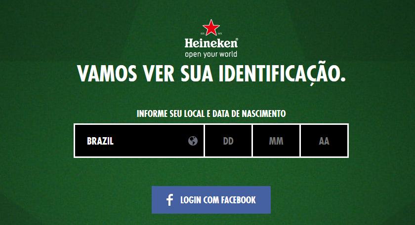 Promoção Heineken #sharethedrama