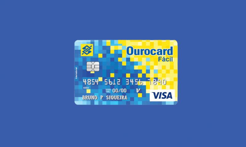 Cartão de Crédito Sem Anuidade Ourocard Fácil 11