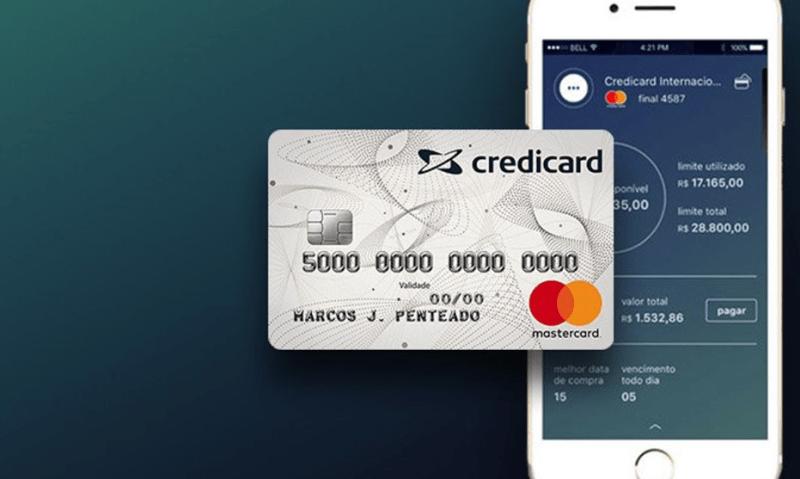 Cartão de crédito sem anuidade Credicard Zero 7