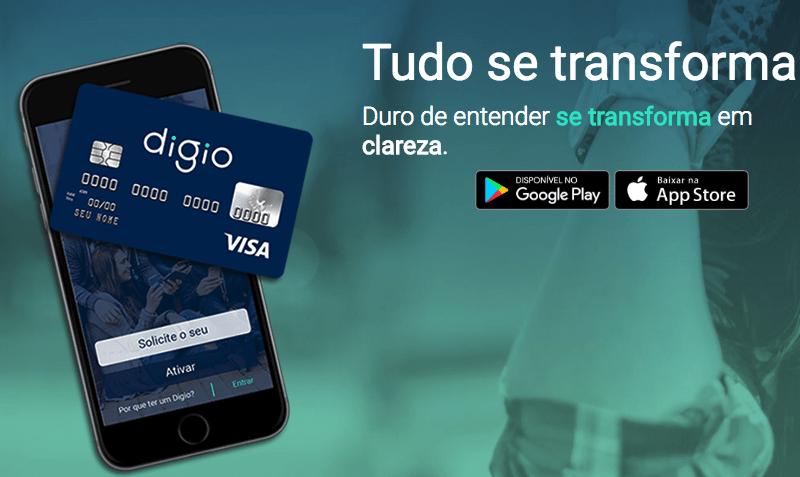 Cartão de crédito sem anuidade Digio 7