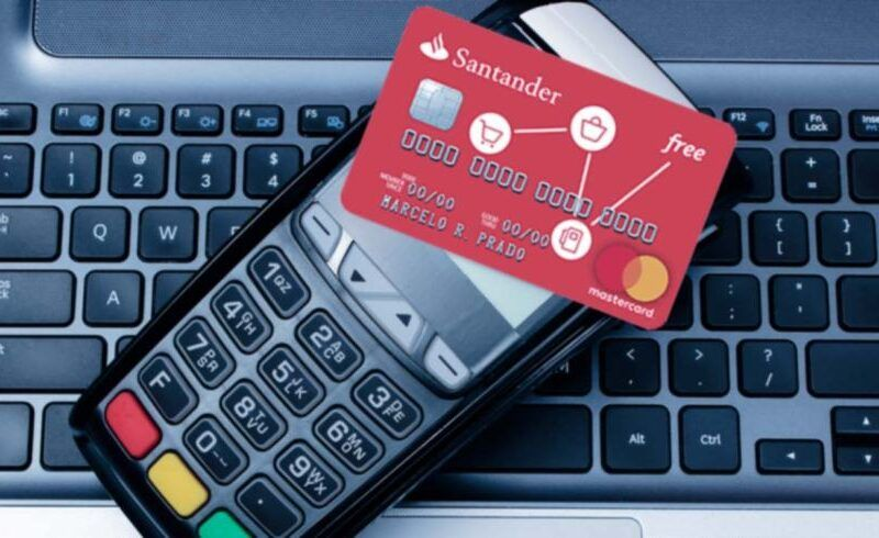 Cartão de crédito sem anuidade Santander Free 12