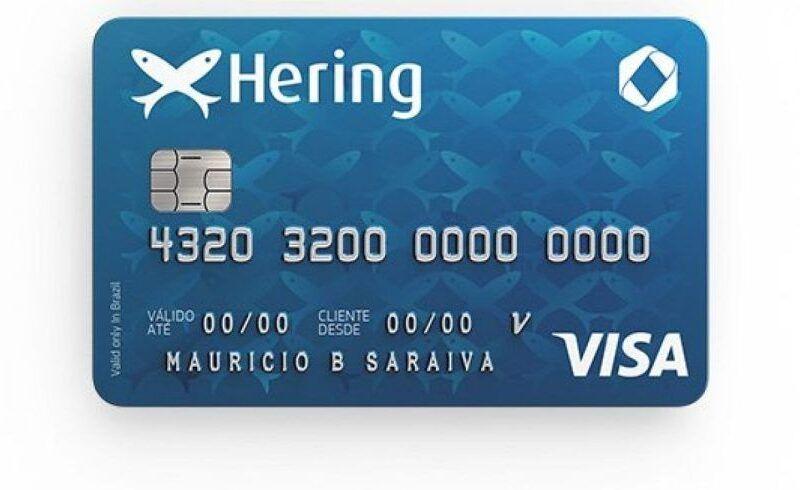 Como solicitar cartão de crédito Hering 3