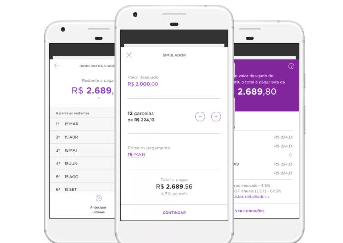 Nubank vai começar a oferecer empréstimo pessoal direto no aplicativo 2